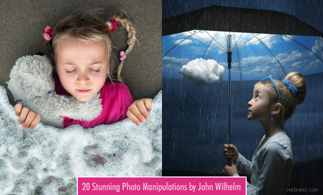 20 Funny and Creative Photo Manipulation works by John Wilhelm