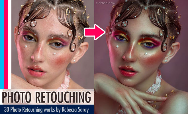 30 Stunning Photo Retouching with Beauty Photography works by Rebecca Saray1