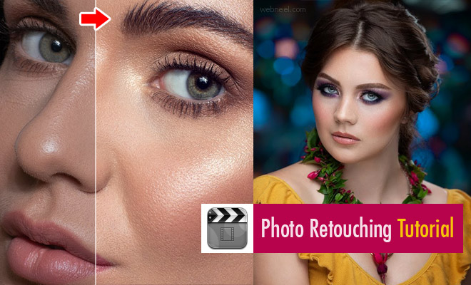 40 Best Photo retouching Tutorial Videos from top photo editors