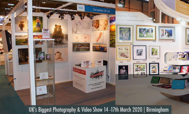 United Kingdom Photography and Video show from 14 -17 March 2020