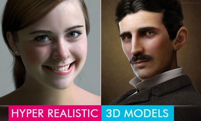 Hyper Realistic 3D Models