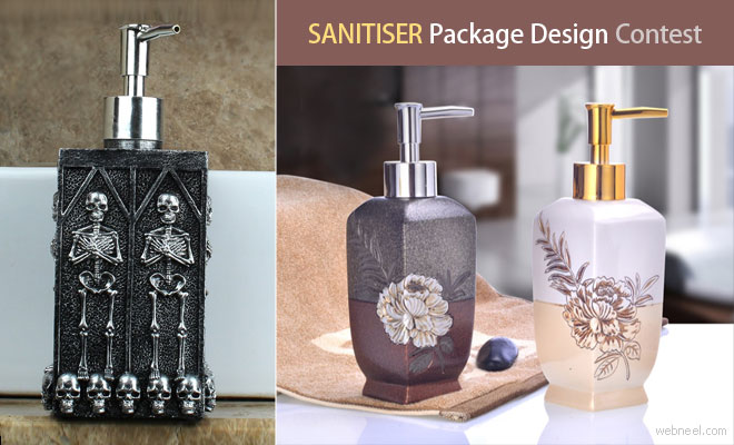Sanitiser Packaging Design Contest - Fountain of Hygiene entries by 29 March 2020