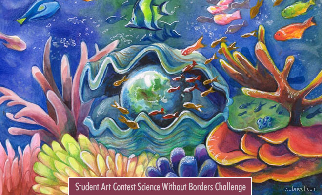 Student Art Contest Science Without Borders Challenge - Entries by 20 April 2020