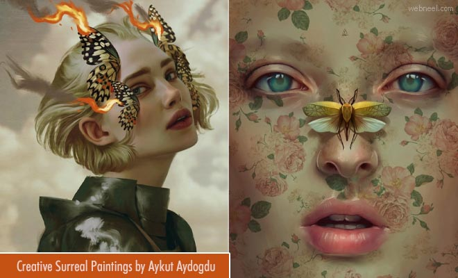25 Whimsy Surreal Paintings and Illustrations by Turkey Artist Aykut Aydogdu