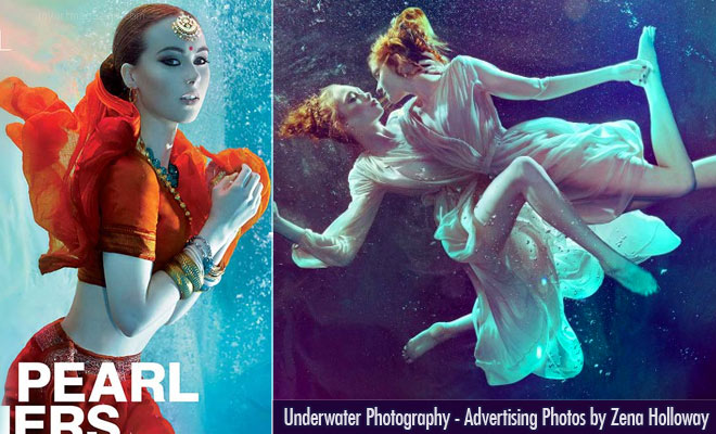 Stunning display of Underwater Photography and Advertising ideas by Zena Holloway