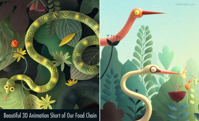 Casse Croute - Beautiful 3D Animation Short of Our Food Chain by Troublemakers Studio