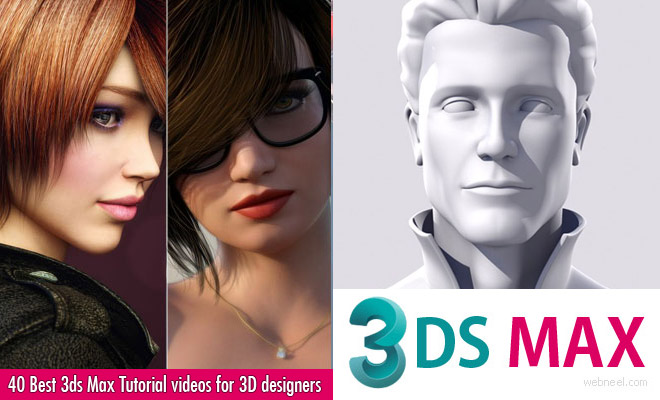 40 Best 3ds Max Tutorial videos for 3D designers and animators
