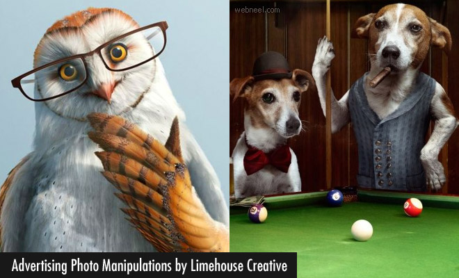 15 Innovative Advertising Photo Manipulations by Limehouse