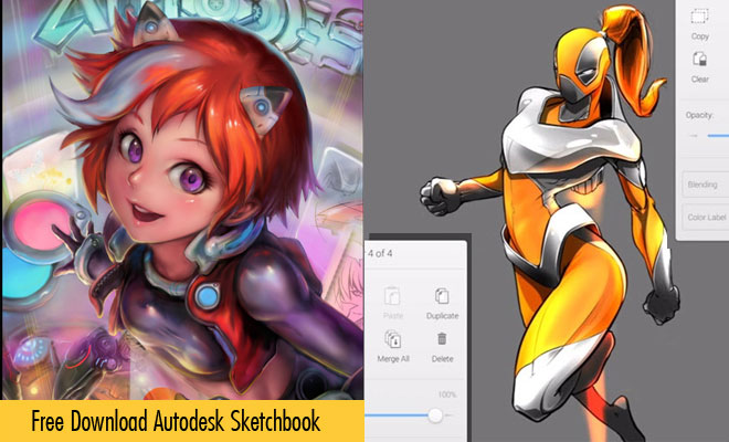 Autodesk Sketchbook - Digital Painting Software Available for Free download