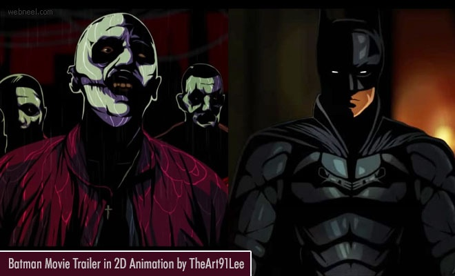 Batman Movie Trailer in 2D Animation by TheArt91Lee