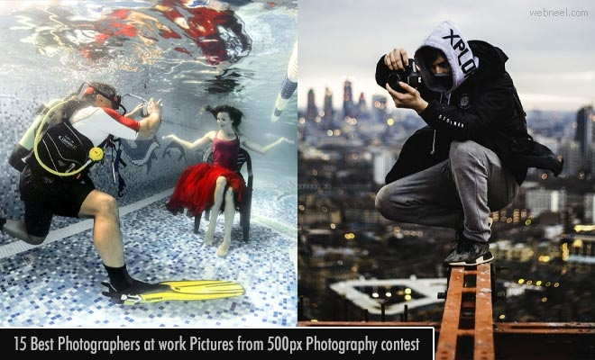 15 Best Pictures of Photographers at work from 500px Photography contest