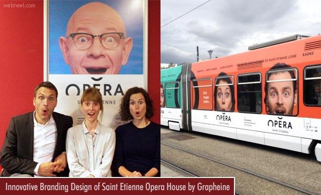 Innovative Branding Design of Saint Etienne Opera House by Grapheine1