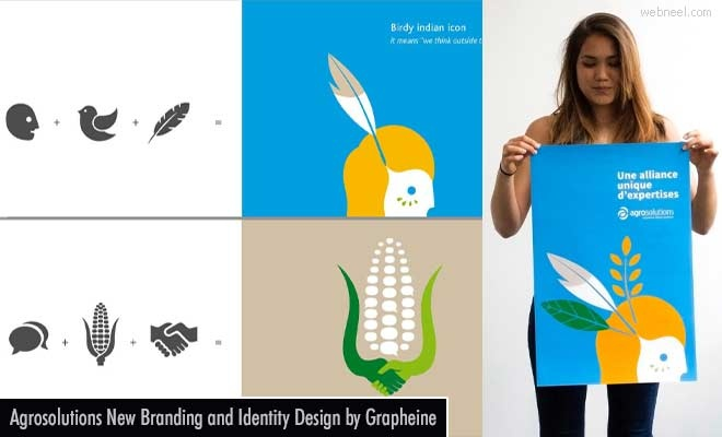 Agrosolutions New Branding and Identity Design by French Design Agency Grapheine