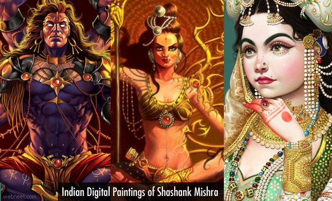 10 Mesmerising Digital Paintings of Indian Artist Shashank Mishra