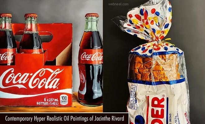 15 Contemporary Hyper Realistic Oil Paintings of Jacinthe Rivard