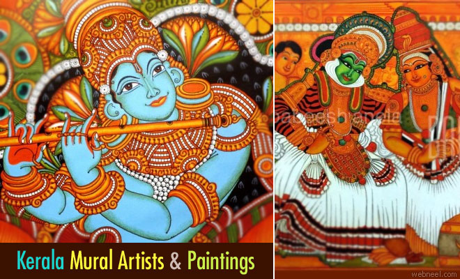 Top Kerala Mural Painting Artists