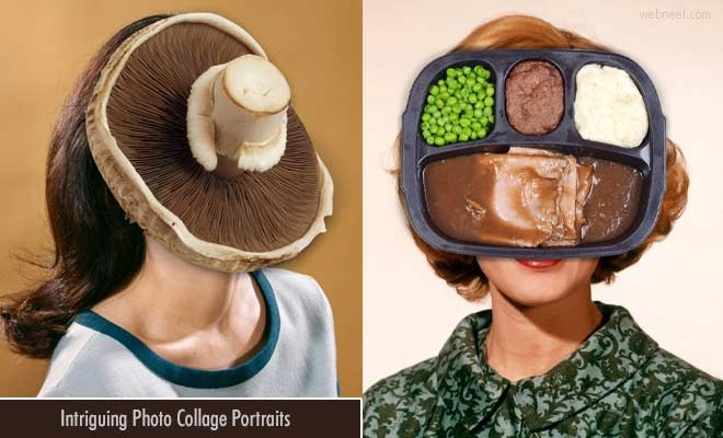 15 Intriguing Photo Collage Portraits by Australian Artist Harriet Moutsopoulos