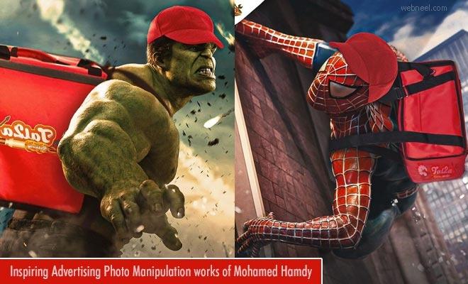 Inspiring Advertising Photo Manipulation works of Mohamed Hamdy