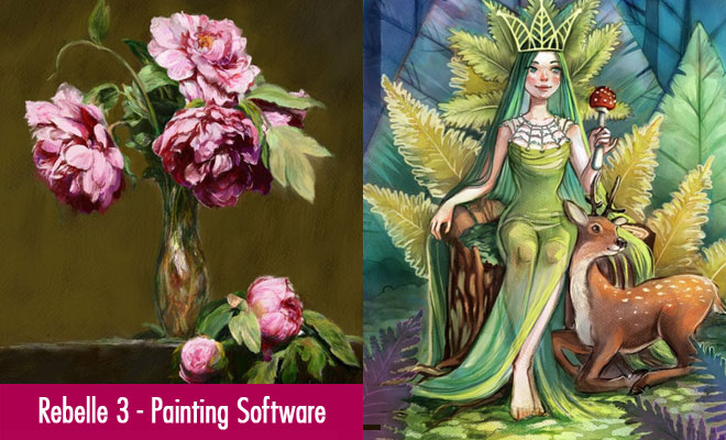 Rebelle 3 Painting Software Bridge Between Traditional and Digital Painting