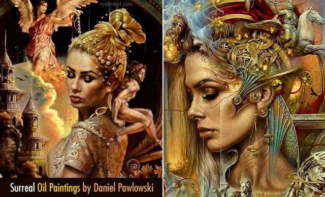Stunning Surreal Oil Paintings by Daniel Pawlowski - Mystical Sands of Time