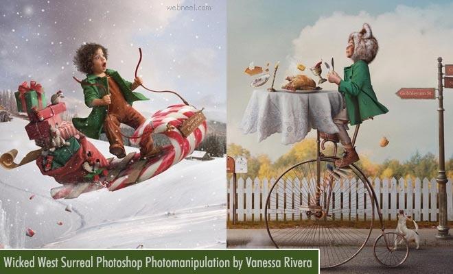 15 Creative Photoshop Photo manipulation works by Vanessa Rivera