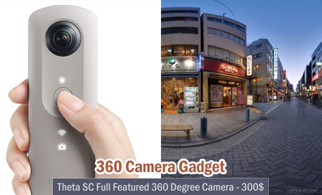 360 Degree Camera gadget for your Smart Phones