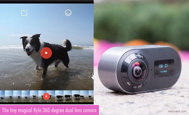 The Tiny magical Rylo 360-degree Dual lens camera Review