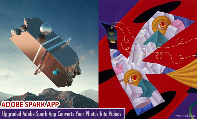 Adobe Spark app converts your Photos into Videos - Best ios App of the Year