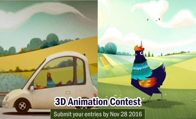 3D Animation competition by Nimble Collective calling for entries before Nov 28 2016