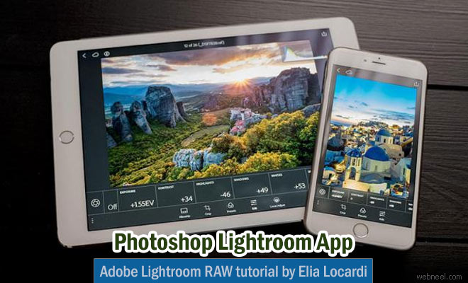 How to convert RAW photos using the Adobe Photoshop Lightroom Mobile App