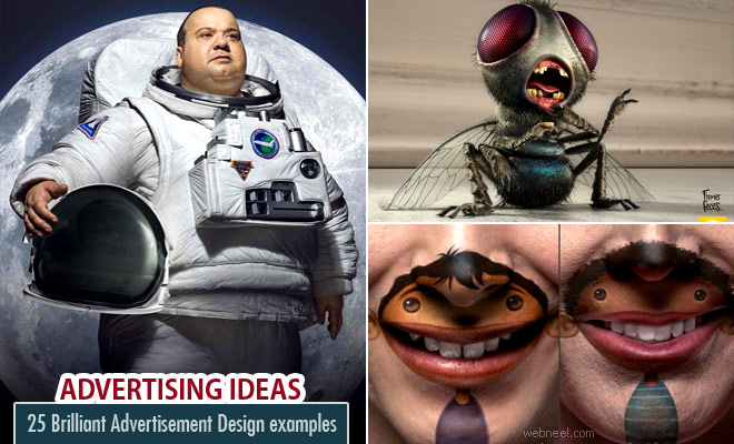 20 Creative and Brilliant Advertisement Ideas and Design examples