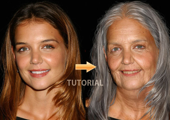 Age Progression - Photoshop Tutorial