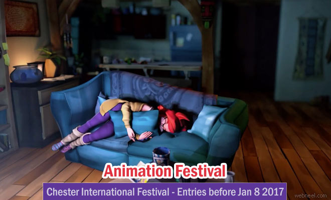 Chester Animation Festival 2017 - Calling for entries before 8th January 2017