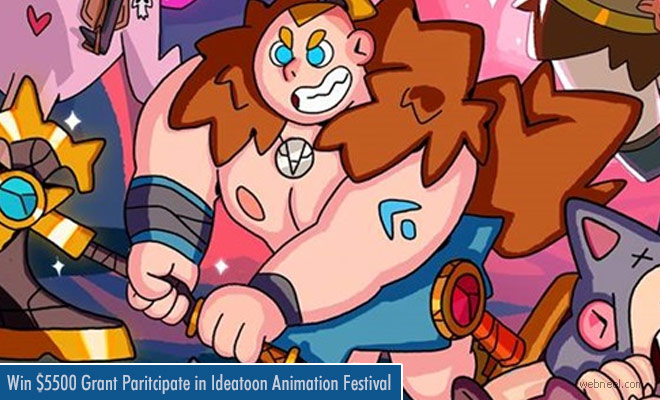 Ideatoon by Pixelatl Seeking Latin American Animation Projects Till 16th April 2018