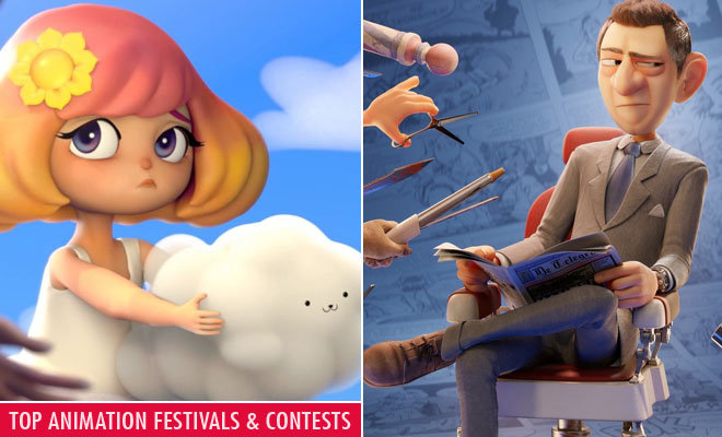 Top Animation Festivals and Animation Contests- Upcoming 2D 3D festivals