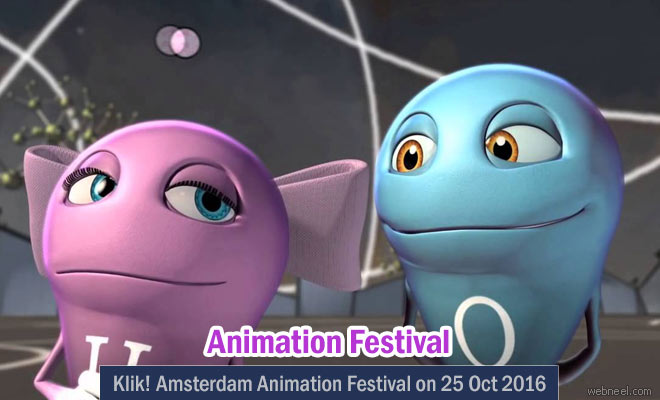 Experience the 9th Klik Amsterdam Animation Festival on 25 October 2016