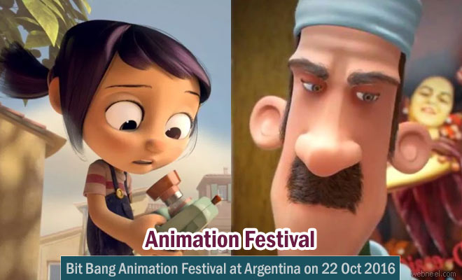 Bit Bang Animation Festival at Argentina