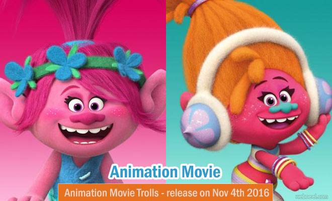 Trolls - 3D Animation Movie Trailer Photos and wallpapers