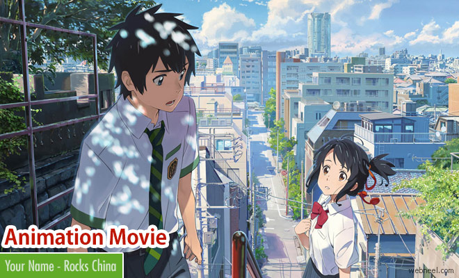 Your name a Japanese animation movie is a big hit in China - Trailer, Review