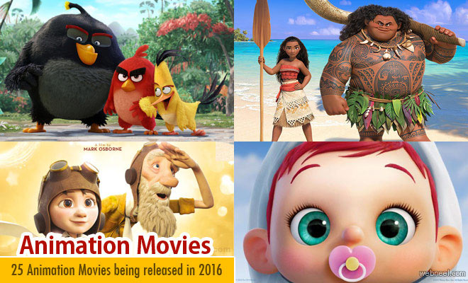 2016 Animation Movies List