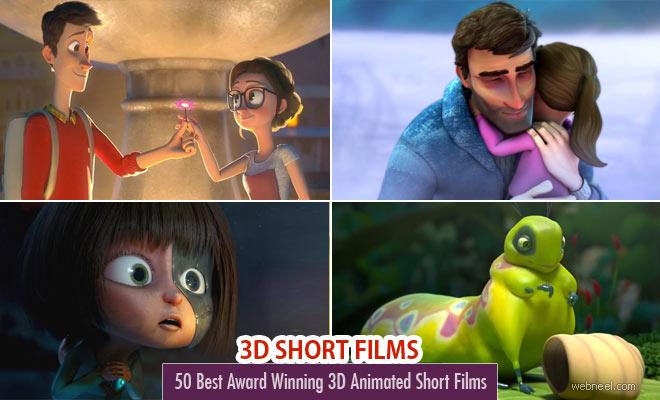 20 Award Winning 3D Animation Short Films for your inspiration