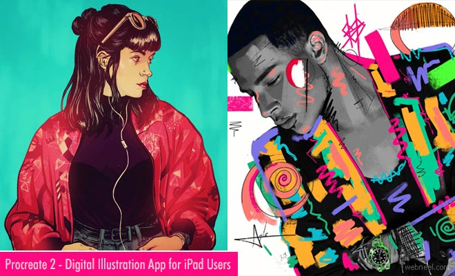Best Drawing and Digital Illustration App for iPad - Procreate 2 Download Now