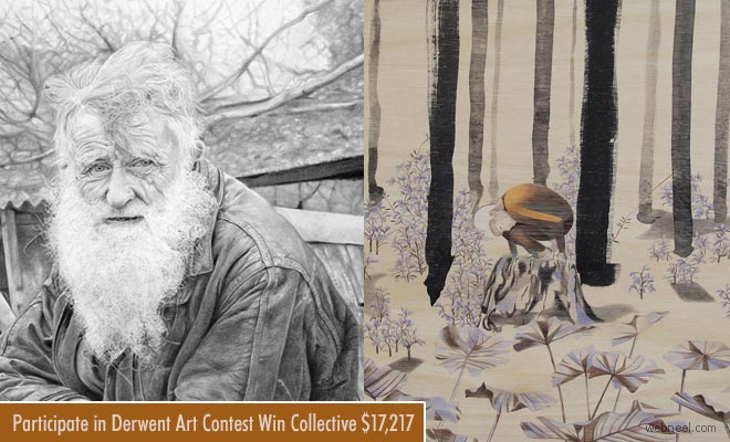 Derwent Art contest - Submit your Pencil Drawings by May 8th 2018