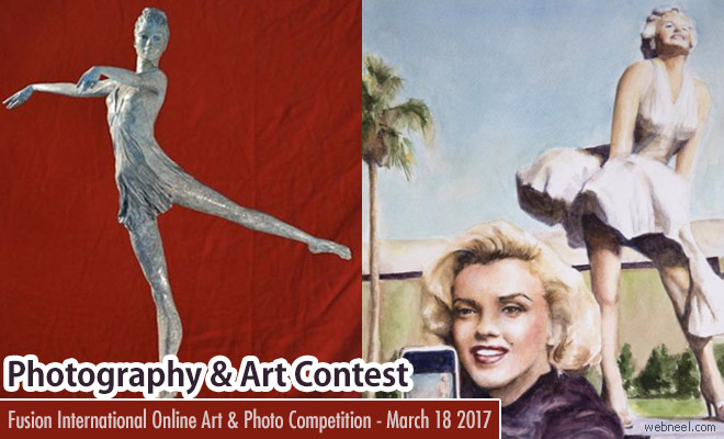 Fusion International Online Art and Photo Competition - March 18 2017