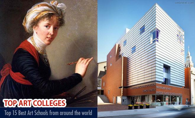 Top 15 Best Art Schools and Colleges from around the world