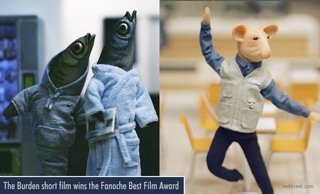 The Burden 3D Animated short film wins the Fanoche Best Film Award