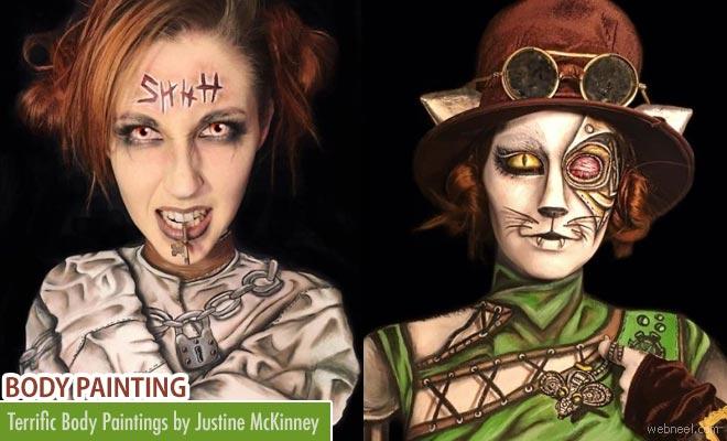 15 Terrific Body Painting Art works by Justine McKinney