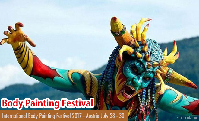World Body Painting Festival 2017 Austria - July 28-30 2017
