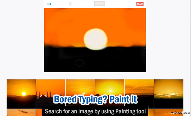 Bored of typing, now you can draw your pictures to search for an image using 500px's Splash tool