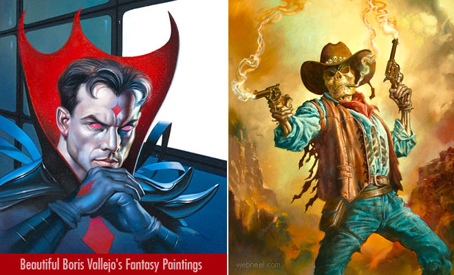20 Beautiful Boris Vallejo's Fantasy Paintings and Artworks